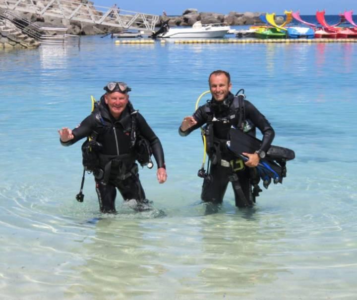 Buceo en Gran Canaria para principiantes bautismo