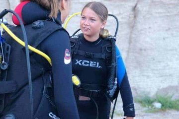 Kids scuba diving course Amadores beach