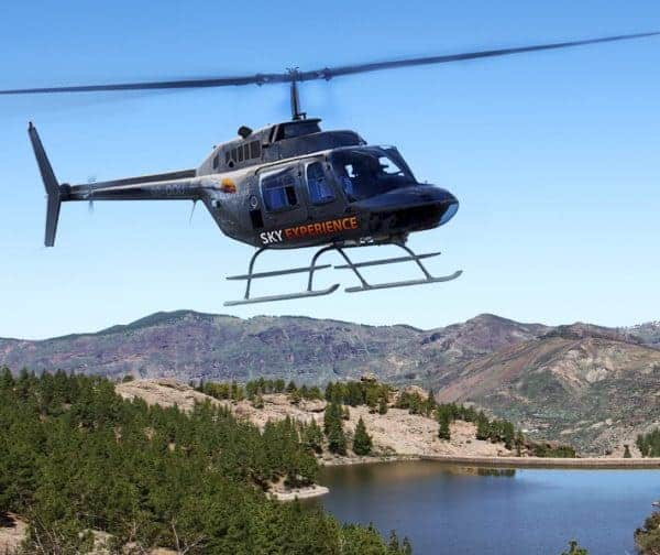 Helicopter tour over gran canaria