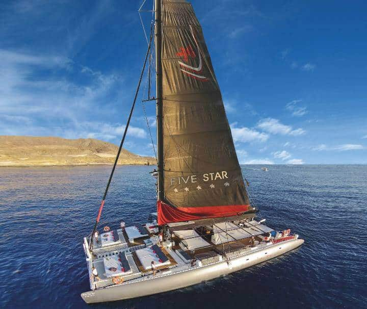 Catamarán five star gran canaria