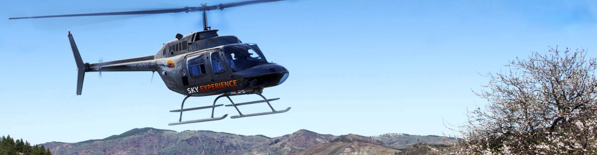 helicopter tour Gran Canaria