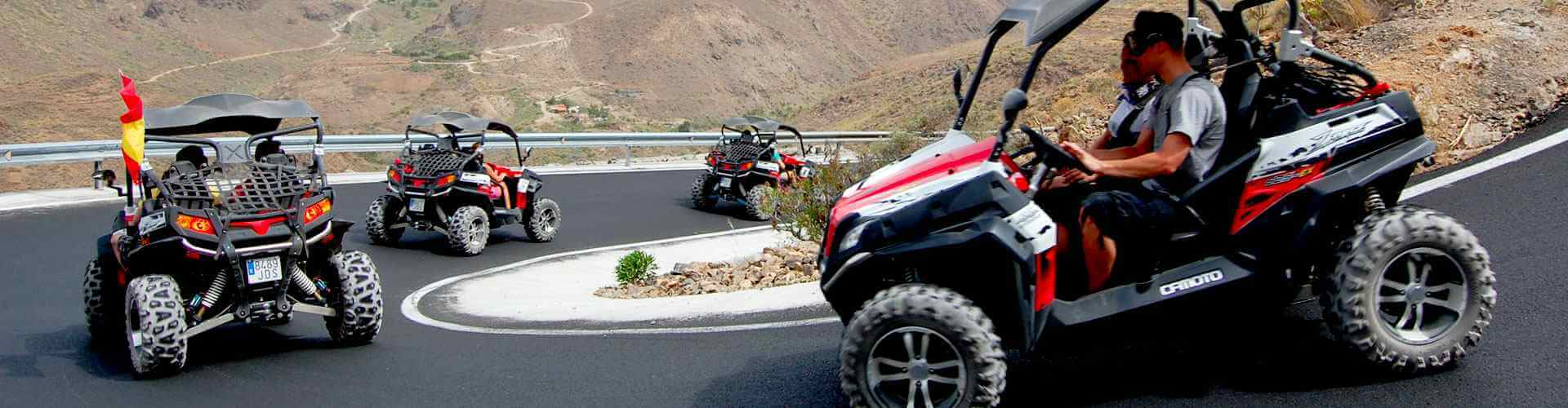 Gran Canaria pirate buggy tour gran canaria