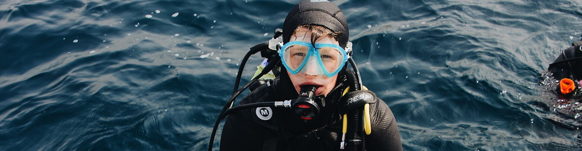 scuba diving for kids amadores beach