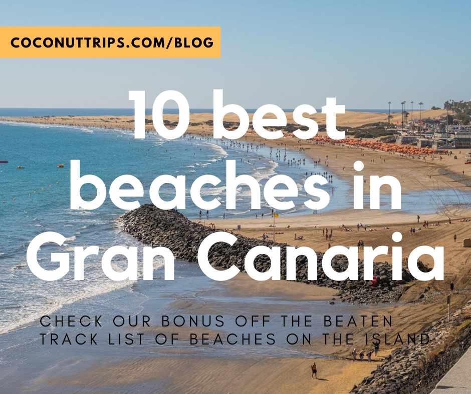 10 best beaches in Gran Canaria
