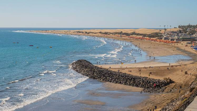 Playa del Ingles best beaches in Gran Canaria