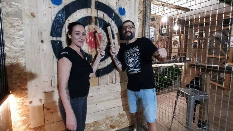 Axe Throwing Gran Canaria