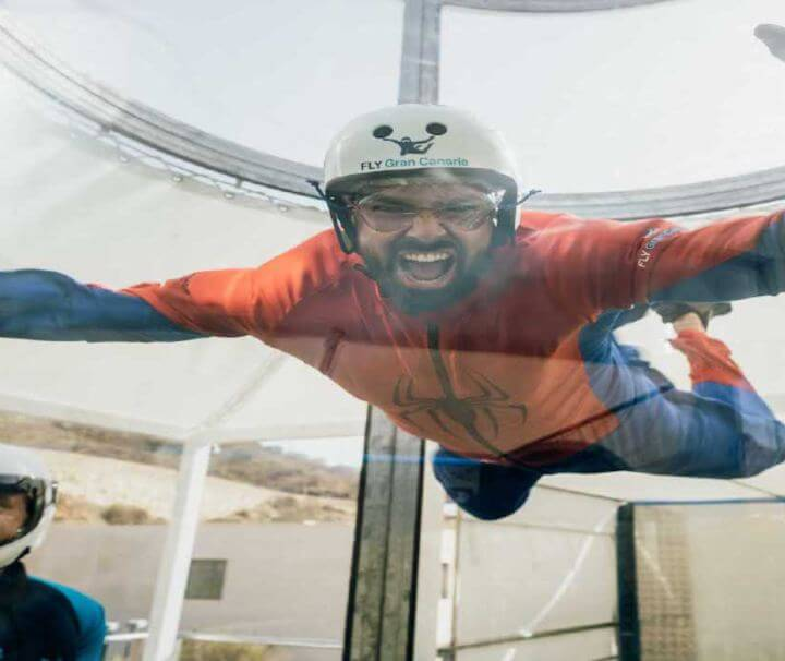 Fly Gran Canaria Wind tunnel