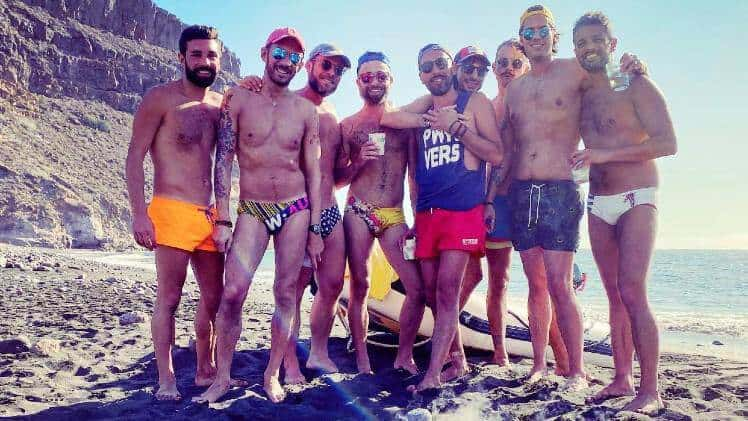 Gay friendly boat trip Gran Canaria luxury trip