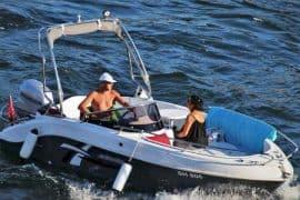 alquila un barco en gran canaria isla breeze